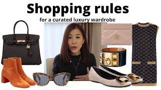 8 التسوق القواعد لخلق مجموعة كاملة من خزانة الملابس. لم يكن لديك للحفاظ على شراء تبدو جيدة.