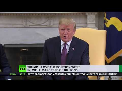 Trade war ongoing: Wall Street suffers another sell-off, but Trump praises US position