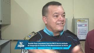 Ronaldo Viana fala da satisfação da inauguração do Videomonitoramento de Russas