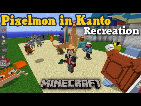 Pokemon Kanto Map Recreated and Optimized for Minecraft 1.8+ and Pixelmon 4.0+