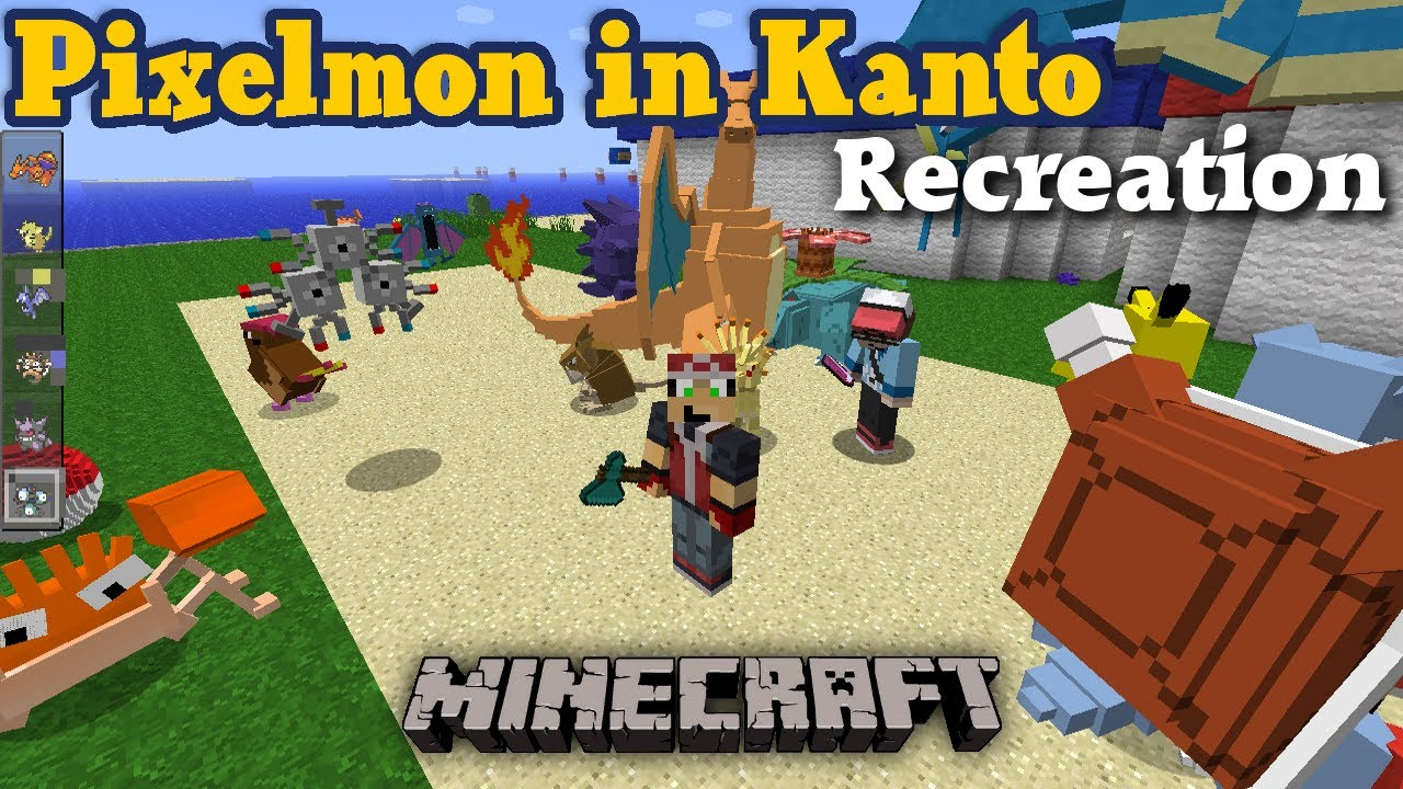 minecraft pixelmon kanto map