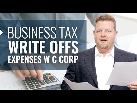 Business Tax Write Offs (Claiming Educational Expenses w C Corp!)