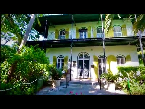 Key West Fl. USA .House ERNEST HEMINGWAY