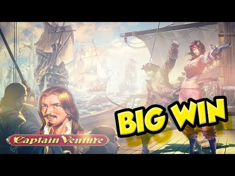BIG WIN!!!! Captain Venture Big win - Casino - Bonus Round (Online Casino)