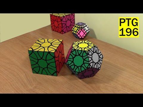 Unbox Clover Dodecahedron and Crazy Comet