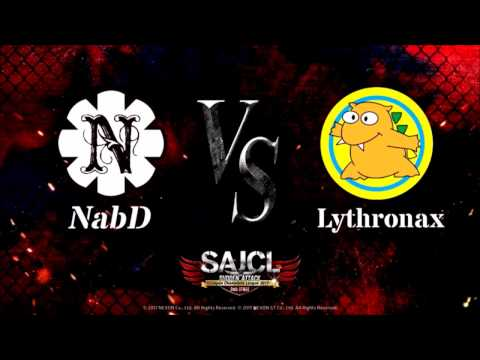 NabD vs Lythronax  決勝戦  第1MAP