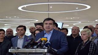 Саакшвили выдвинул ультиматум Порошенко(Губернатор Одесской области Михаил Саакашвили выдвинул ультиматум Порошенко, в котором требует провести..., 2016-04-11T18:06:54.000Z)