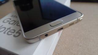 Galaxy Note 5 يأتي الآن مع تحذير بشأن القلم الرقمي S Pen