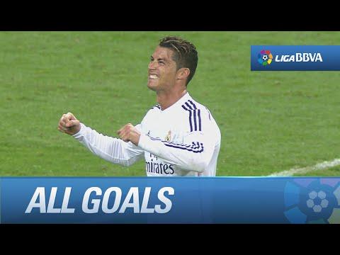 Todos los goles de Real Madrid (2-0) Córdoba CF - HD