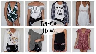 HUGE Summer TRY ON Haul: Free People, Urban Outfitters & more