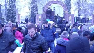 Васильков простился с Настенькой  скончавшейся после ДТП.