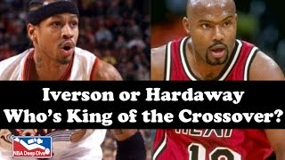 Iverson or Hardaway: Who's King of the Crossover?