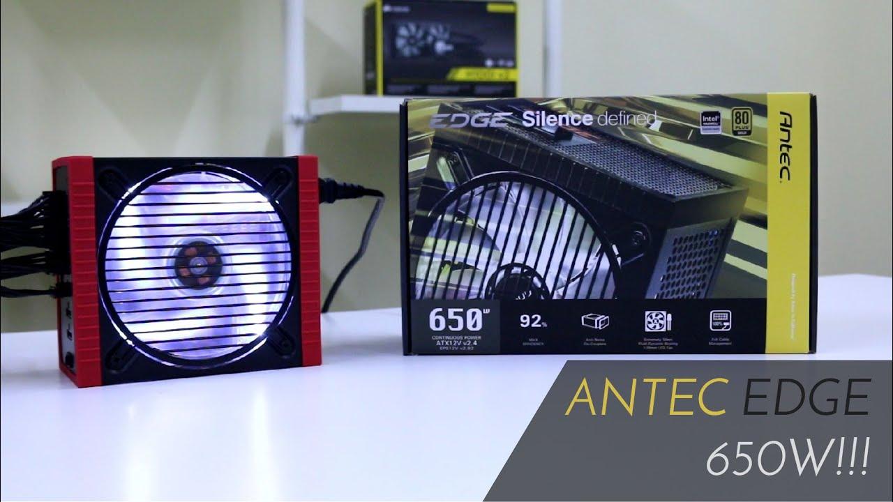 Antec Edge 650W Continous Power - #Ulasan eps  26