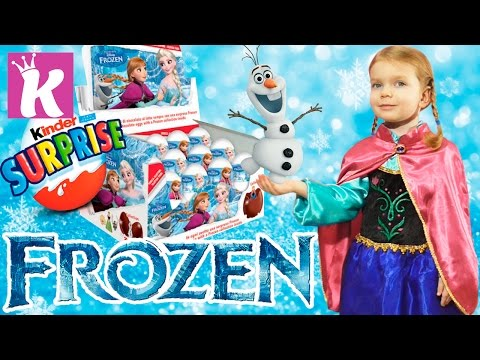 Холодное Сердце Принцесса Анна Дисней игрушки Киндер Сюрприз Kinder Surprise Frozen