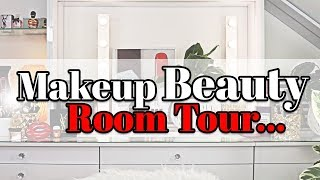 ZMALOWANA || BEAUTY Room TOUR... ( Moje Studio Nagraniowe Youtube )