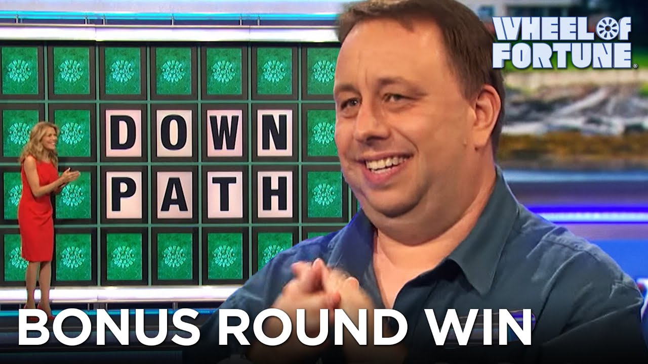 Devin Solves This Bonus Round Puzzle in Seconds | Wheel of Fortune