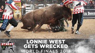 Wreck: Hostage Escapes Lonnie West | 2018 PBR World Finals