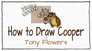How To Draw Cooper - Tutorial