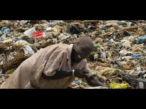 Garbage dumps in africa