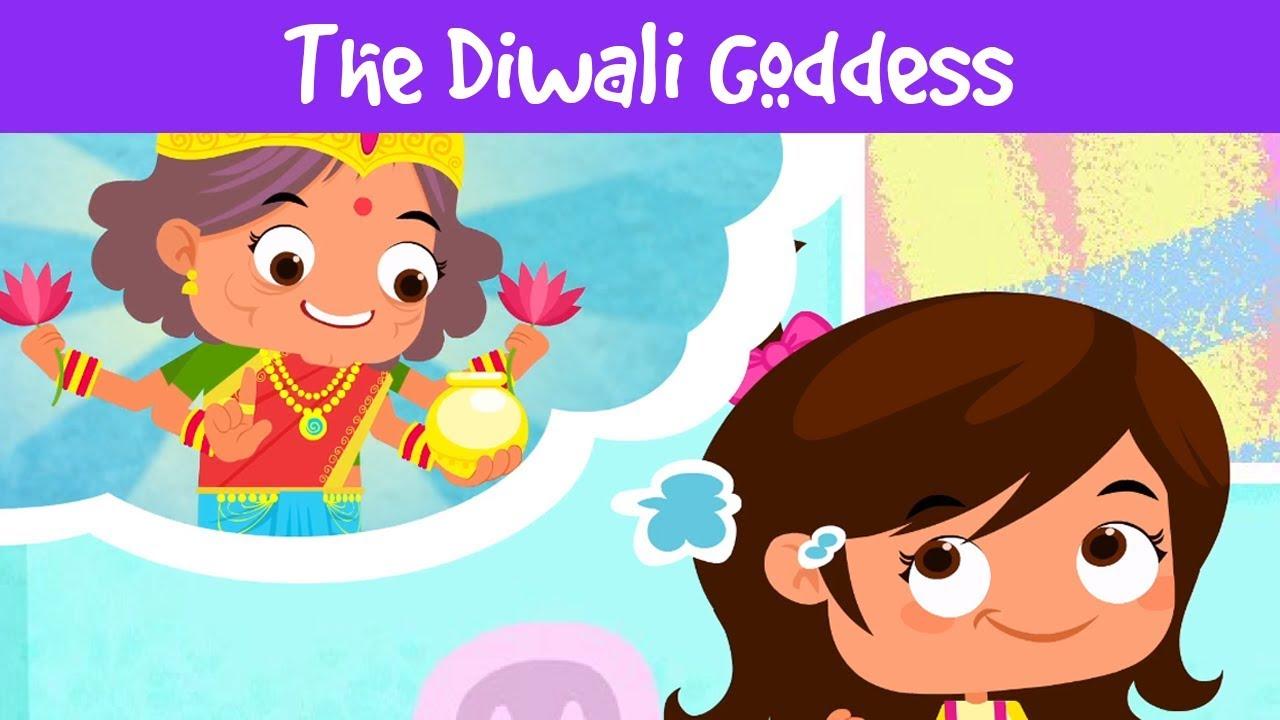 The Diwali Goddess Diwali For Kids Importance Of