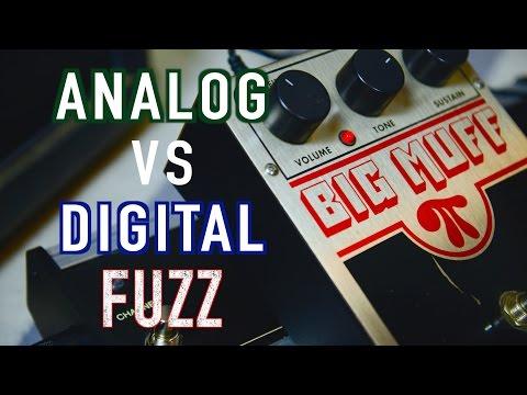 Analog vs Digital Big Muff