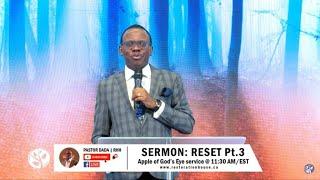 Reset (Pt 3) - Pastor Olayinka Dada | Restoration House Hamilton Live Stream  April 26, 2020