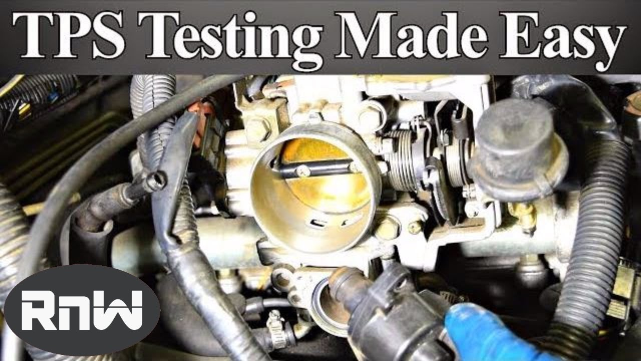 How To Test A Throttle Position Sensor Tps With Or Without 1997 Nissan Pick Up Engine Diagram Wiring