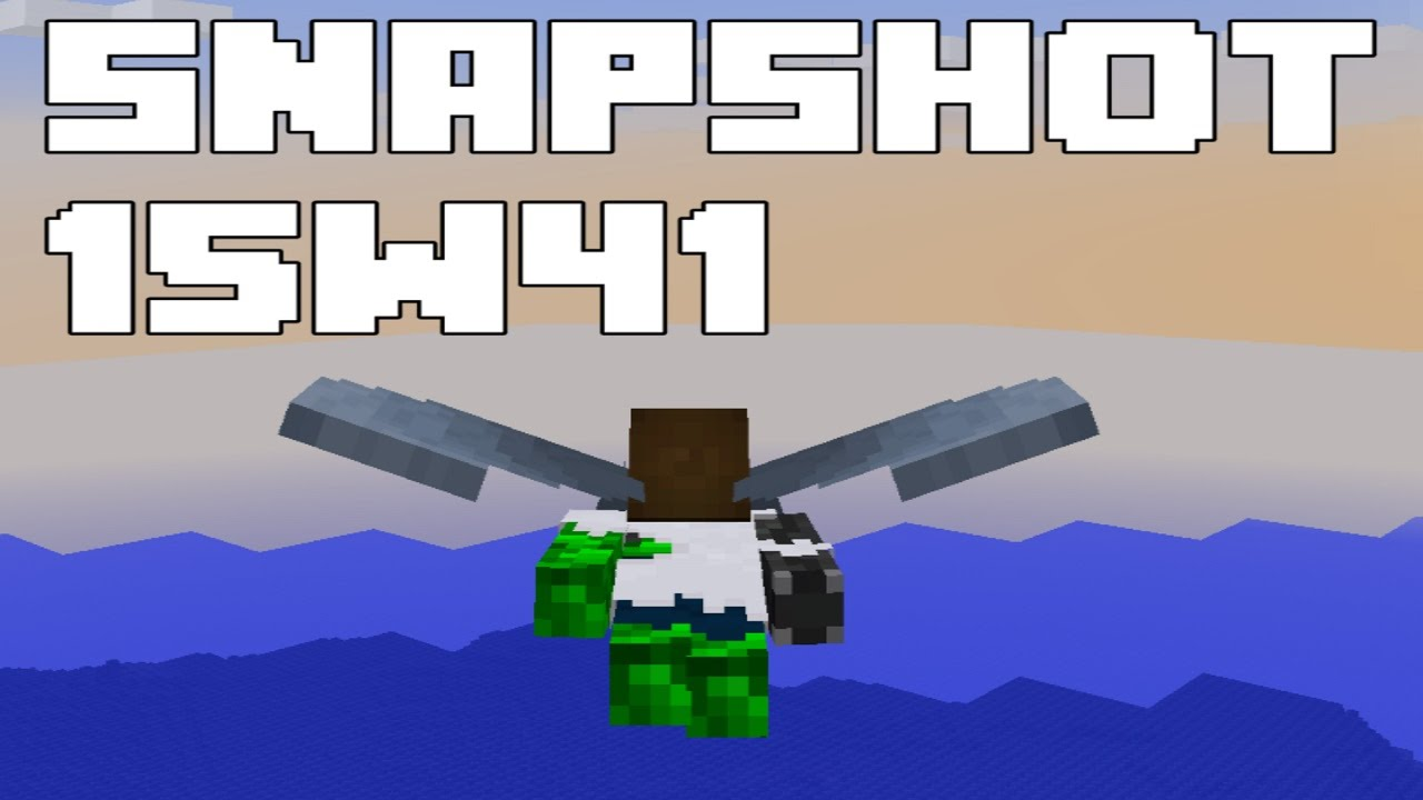 How To Make A Glider On Minecraft Crafting
