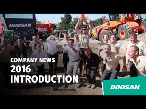 2016 Doosan Infracore Introduction Video