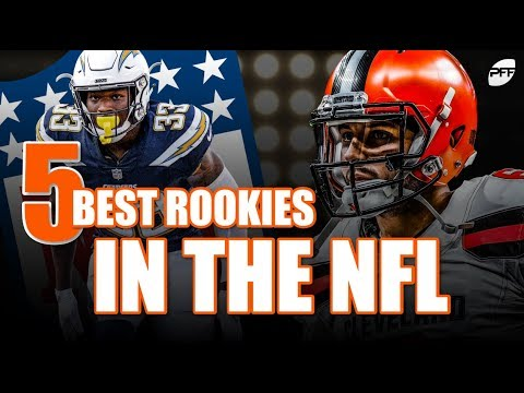 Who are the 5 Best Rookies in the NFL? | PFF