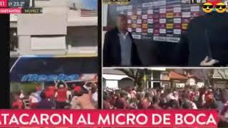 River vs Boca, lo que pasó hoy 24/11/18 superclásico, suspendido