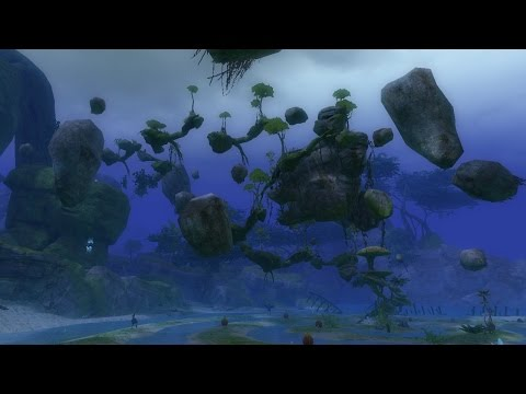 Guild Wars 2 ★ Morgan's Leap and Dark Reverie ★ Jumping Puzzle