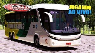 LIVE: ATUALIZAÇÃO! JOGANDO COM G7 1200 - WORLD BUS DRIVING SIMULATOR