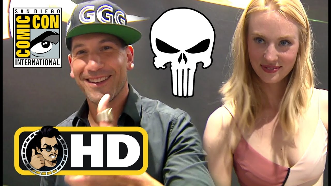 THE PUNISHER Signing Booth Footage with Jon Bernthal & Deborah Ann Woll - SDCC 2017