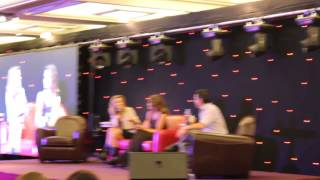 Bethany Joy and Hilarie talks about psycho Derek