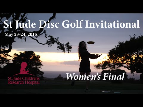 The Disc Golf Guy - Vlog #292 - St Jude Disc Golf - P. Pierce V. Jenkins C. Allen J. Weese - Finals