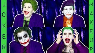 THE EVOLUTION OF JOKER MAKEUP