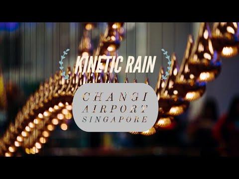 Kinetic Rain | Changi Airport | Singapore 🇸🇬