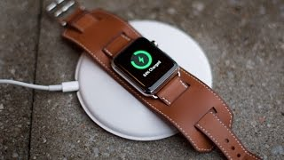 Apple Watch Magnetic Charging Dock unboxing and hands-on!