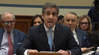 Michael Cohen's explosive statement