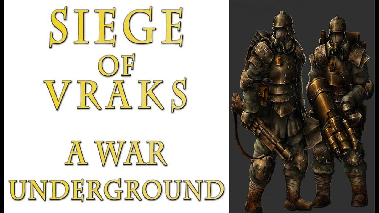 Warhammer 40k Lore - Siege of Vraks, A War Underground (Part 18)