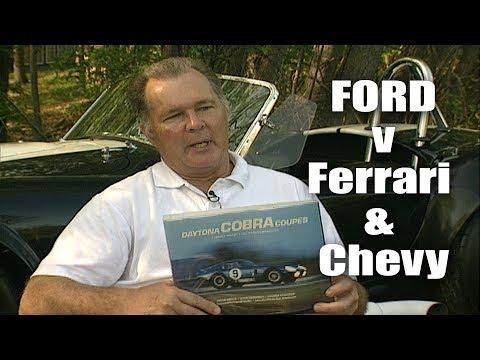 Pete Brock - Ford v Ferrari & Chevy   Shelby Daytona Cobra Coupe   Corvette Sting Ray   Hang Gliding