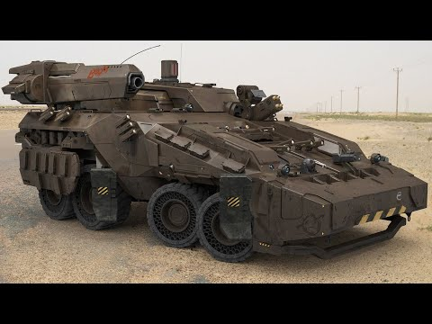 Combat Vehicle of The Increased CHEMICAL Defense