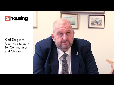 Carl Sargeant interview with 24housing