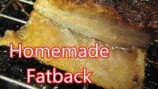 Roast Pork Bellie aka salt pork - fatback
