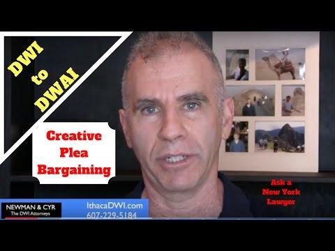 Creative Plea Bargaining on New York DWI to DWAI