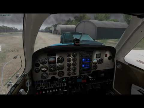 Simcoders REP Beech Baron  X-Plane 11 Beta- Completely Impossible IFR Arrival