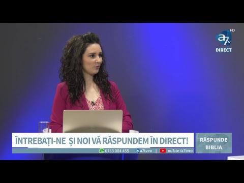 Răspunde Biblia - De ce trăim după reguli de acum 2000 de ani? - cu Cornel Dărvășan și Evelina Manea