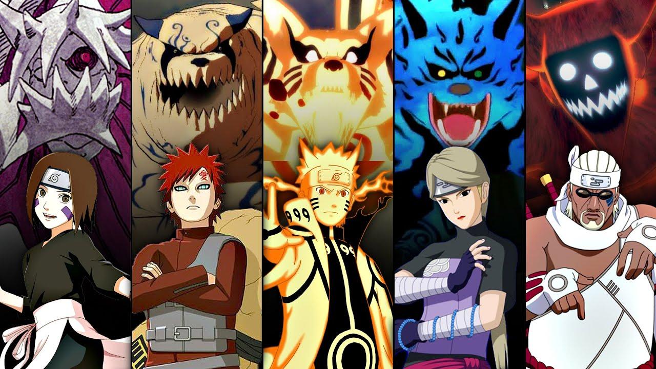 รวมท่าไม้ตายของเหล่าสัตว์หาง : Naruto Shippuden Ultimate Ninja Storm 4