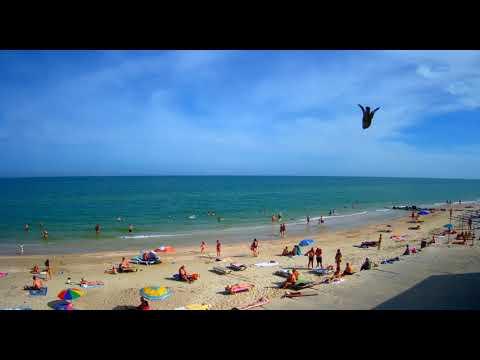 1 Июня.  Начало лета.  Таймлапс.  Азовское море